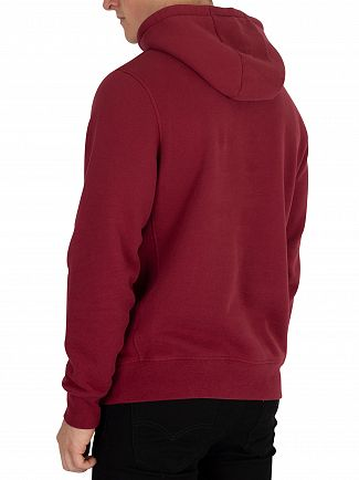Hackett London Crimson Mr Classic Pullover Hoodie