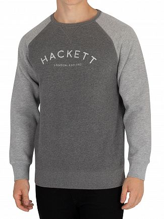 Hackett London Charcoal Mr Classic Sweatshirt