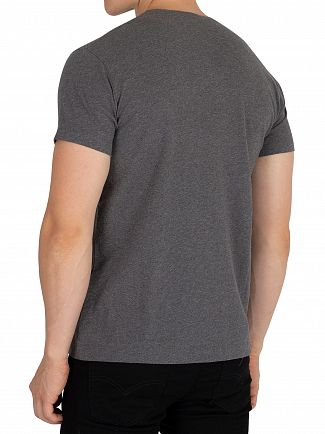Hackett London Grey Marl Mr Classic T-Shirt