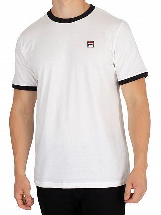 Fila Vintage White Essential Vintage T-Shirt
