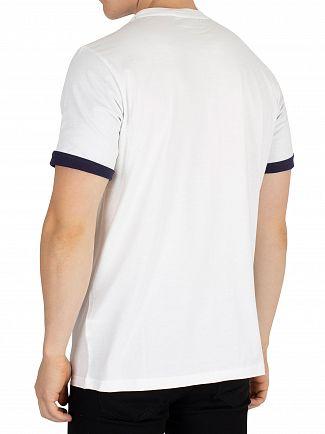 Fila Vintage White Graphic T-Shirt