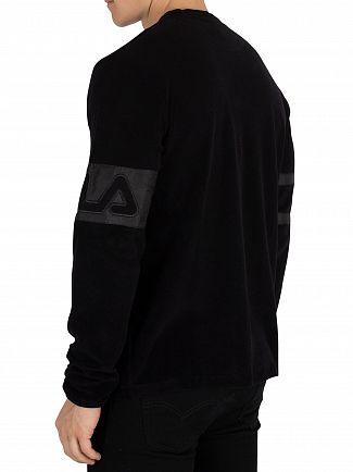 Fila Vintage Black Paul Sweatshirt
