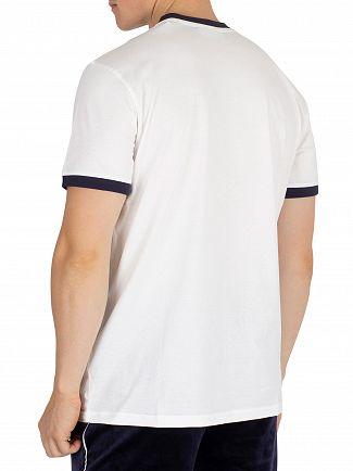 Fila Vintage White/Peacoat Roscoe Ringer T-Shirt
