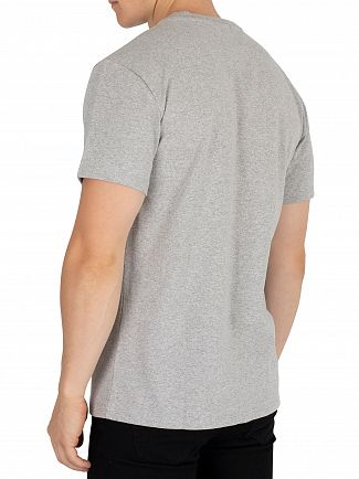 Tommy Jeans Light Grey Heather Classics Graphic T-Shirt