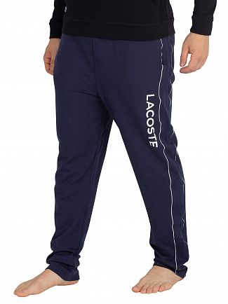 Lacoste Night Blue Graphic Pyjama Bottoms