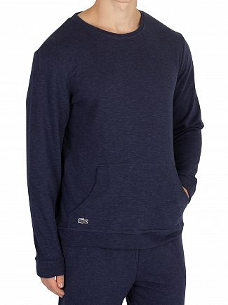 Lacoste Blue Longsleeved Pyjama Top