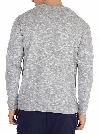 Lacoste Grey Melange Longsleeved Pyjama Top