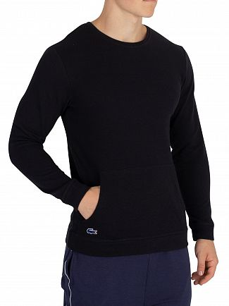 Lacoste Night Blue Longsleeved Pyjama Top