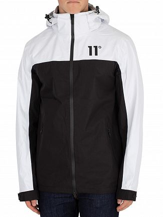 11 Degrees White & Black Aqua Jacket