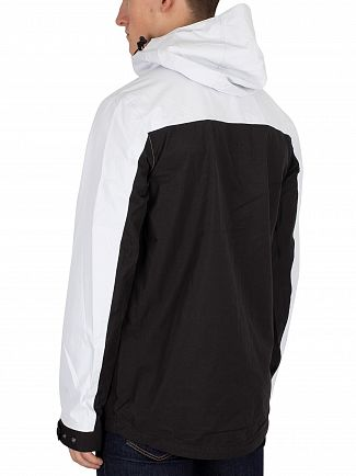 11 Degrees White & Black Aqua Jacket