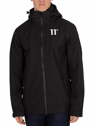 11 Degrees Black Aqua Jacket