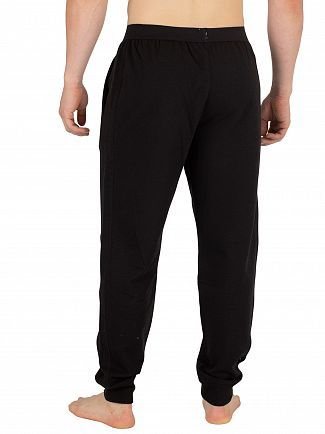 Calvin Klein Black Monogram Pyjama Bottoms