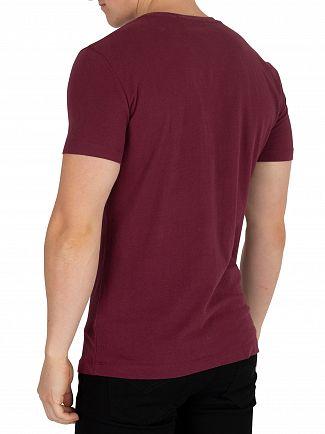 Calvin Klein Jeans Tawny Port Institutional T-Shirt