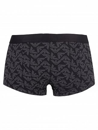 Emporio Armani Antracite Pattern Trunks