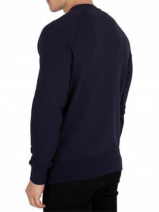 Gant Evening Blue Shield Sweatshirt