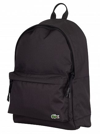 Lacoste Black Backpack