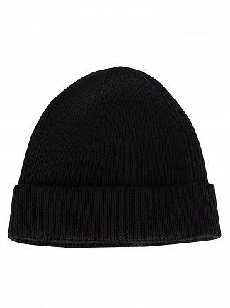 Lacoste Black Beanie Hat