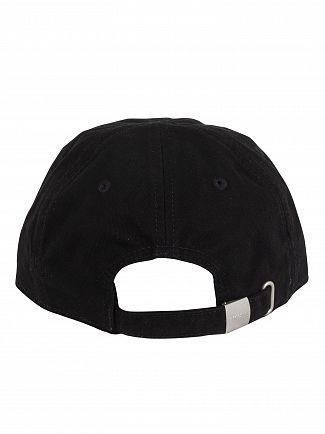 Lacoste Black Big Logo Baseball Cap