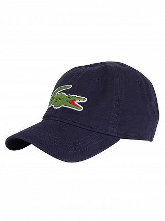 Lacoste Marine Big Logo Baseball Cap