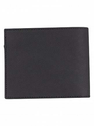 Lacoste Black Billfold Coin Wallet