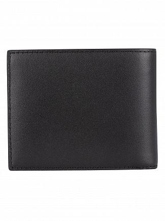 Lacoste Black Billfold Leather Wallet