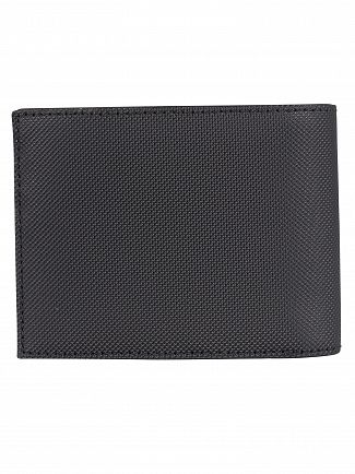 Lacoste Black Billfold Wallet