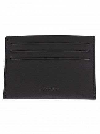 Lacoste Black Credit Card Wallet