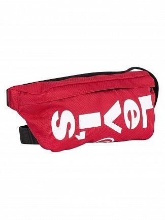 Levi's Brilliant Red Banana Sling Bag