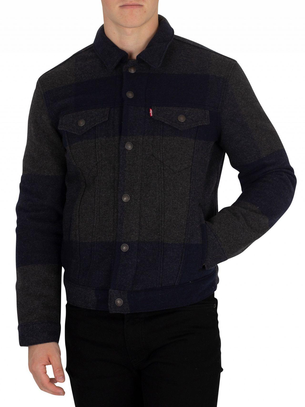 Gelada Jacket Trucker Original Levi's Wool qdYxC