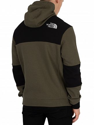 The North Face New Taupe Green Himalayan Pullover Hoodie