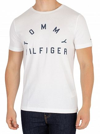 Tommy Hilfiger Bright White Arch T-Shirt