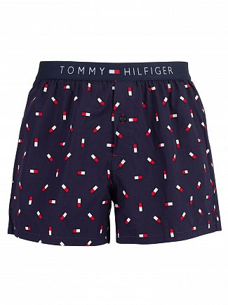 Tommy Hilfiger Peacoat Icon Woven Trunks