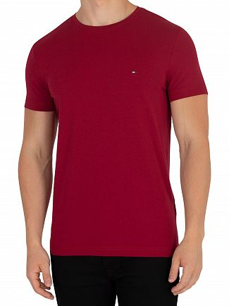 Tommy Hilfiger Rhubarb Stretch Slim Fit T-Shirt