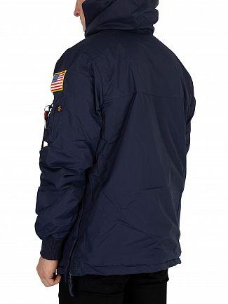 Alpha Industries Rep Blue NASA Anorak Jacket