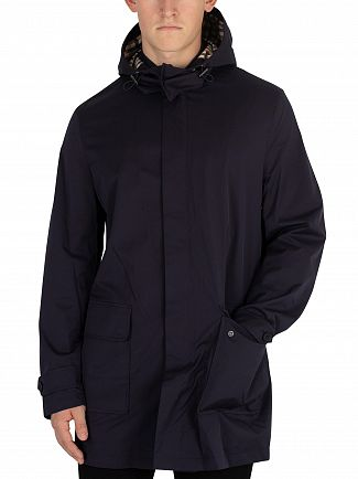 Aquascutum Navy Dexter Parka Jacket