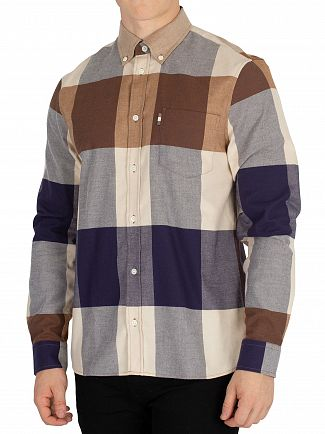 Aquascutum Vicuna Gunn Flannel Shirt