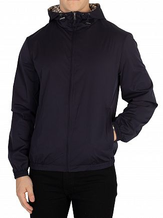Aquascutum Navy Tyne Reversible Jacket