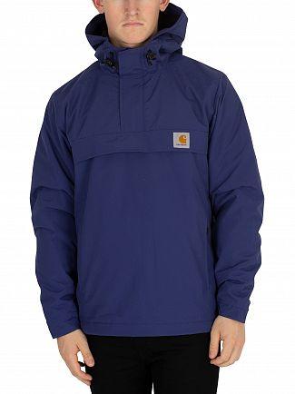 Carhartt WIP Metro Blue Nimbus Pullover Jacket