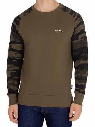 Diesel Khaki Casey Sweatshirt