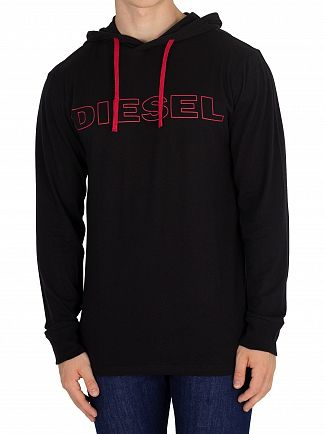 Diesel Black Jimmy Longsleeved T-Shirt