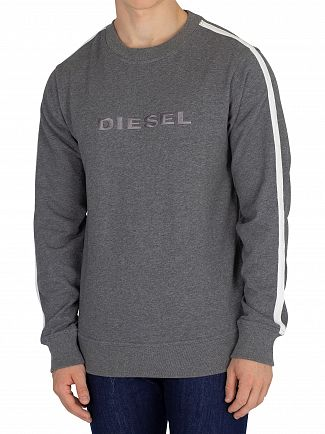 Diesel Grey Willy Sweatshirt