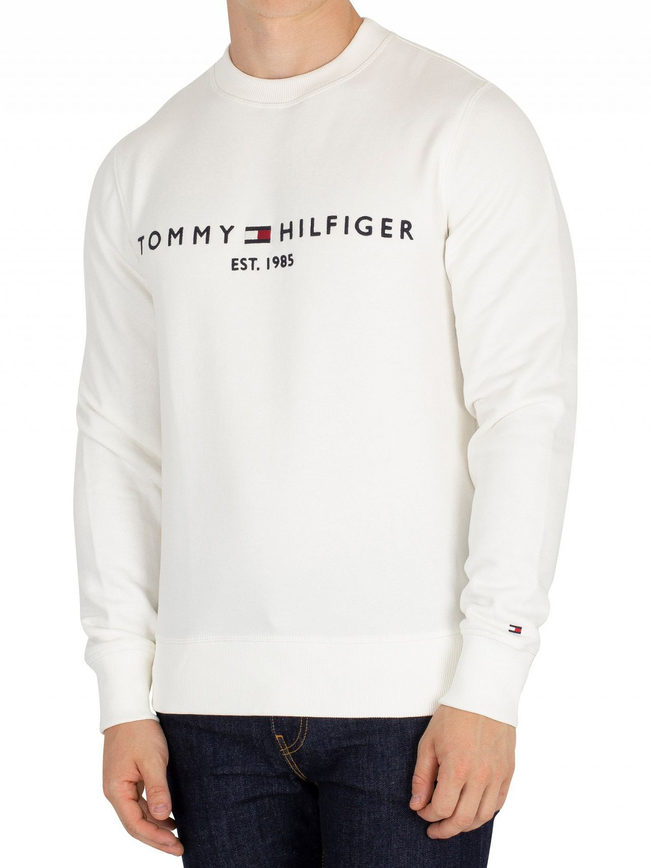 34ae2dcf8f82ce Tommy Hilfiger Snow White Graphic Sweatshirt