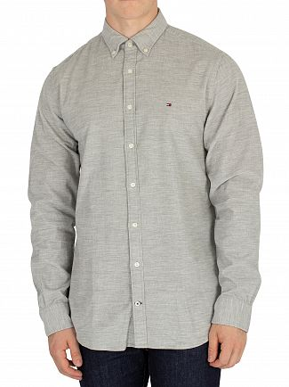 Tommy Hilfiger Cloud Heather Corduroy Shirt