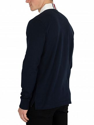 Tommy Hilfiger Sky Captain Iconic Rugby Longsleeved Poloshirt