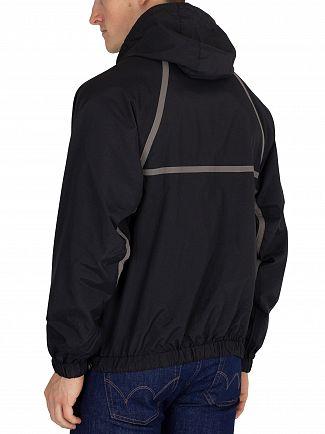 Fila Vintage Black Astor Batwing Jacket