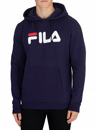 Fila Vintage Peacoat/White/Red Axel Pullover Hoodie