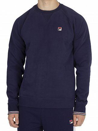 Fila Vintage Peacoat Pozzi Sweatshirt