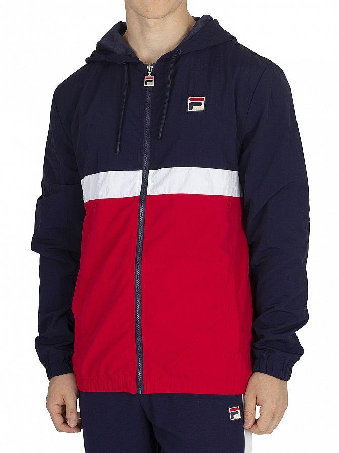 Fila Peacoat/Red/White Tate Zip Jacket