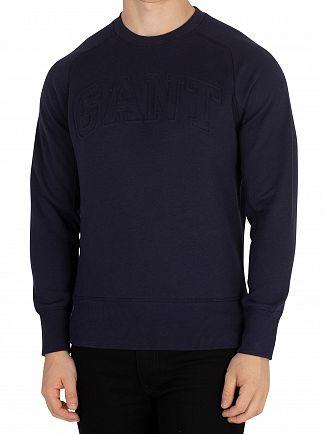 Gant Evening Blue Mobilize Sweatshirt
