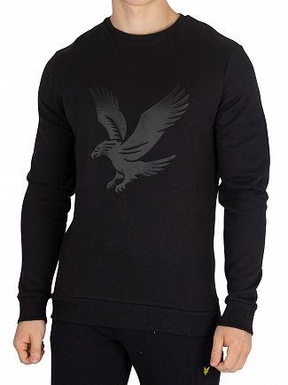 Lyle & Scott True Black Graphic Sweatshirt